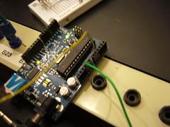 ArduinOscillator, prototype 1