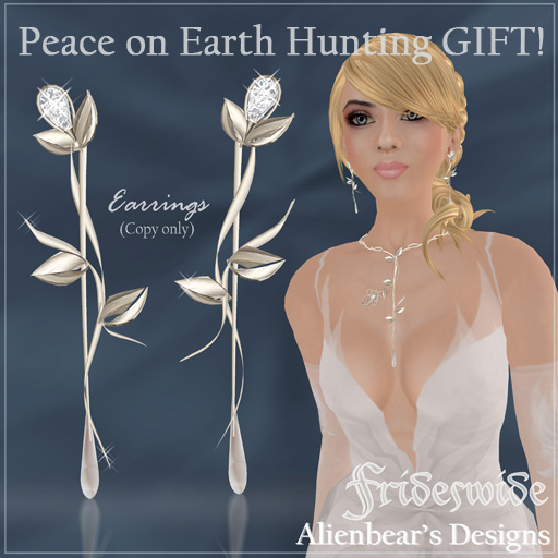 BOSL hunt gift - Frideswide earrings (c)