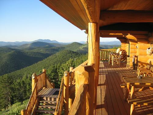 Porch at Eable Peak