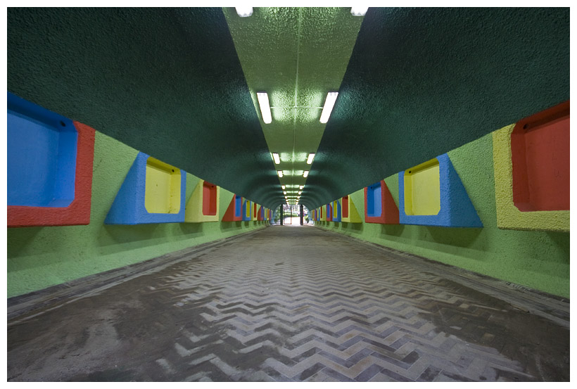 Color Cube Tunnel