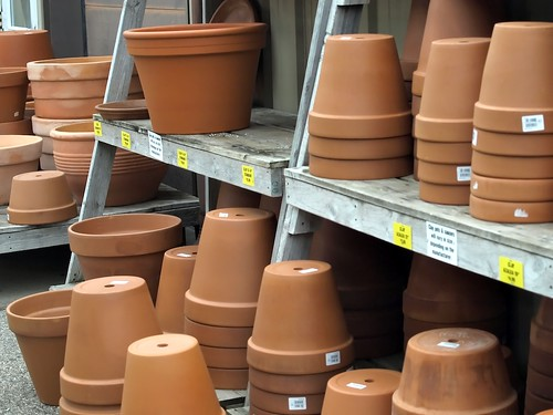 P is for Pots, of All Size and Measures