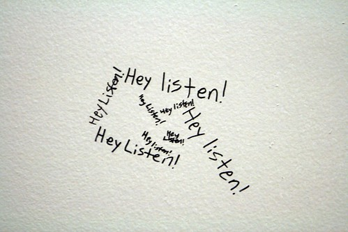 """Hey listen!"" by quinnanya on flickr"
