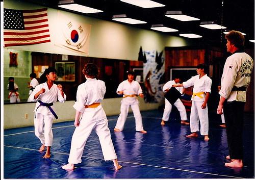 Tang Soo Do - Blue Belt 1986