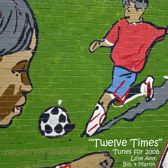 """Twelve Times"" (front cover)"