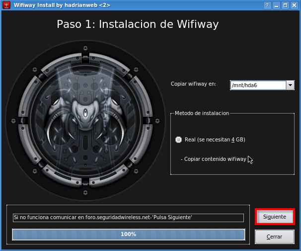 wifiway 2.0 seguridad wireless