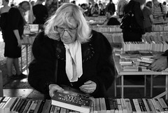 . (Ed') Tags: bw london ed hands candid southbank wp bookstall bustamante sttd