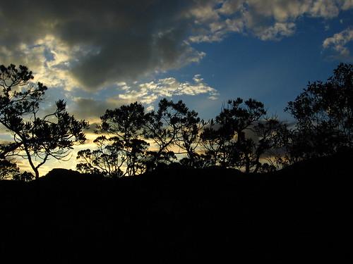 Por-do-Sol sobre o Cerrado -  Sunset Over Cerrado