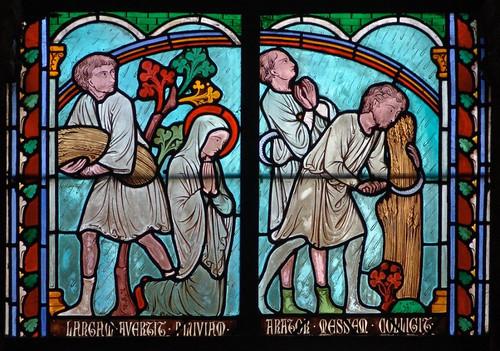 016- Vitral nº 16 claustro de Notre Dame de Paris