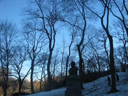 Statuary in Central Park