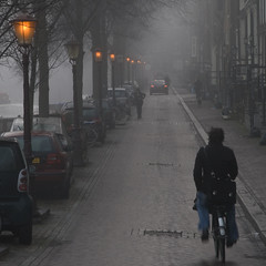 Amsterdam (Bart van Dijk (...)) Tags: street morning urban netherlands amsterdam bike bicycle canal streetlights nederland explore prinsengracht ochtend fiets gracht expositie straat doka 500x500 amsterdambike straatlantaarns explored abigfave infinestyle dedoka winner500 streetlantarns