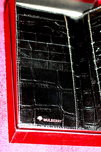 Mulberry wallet for hubby from me :)