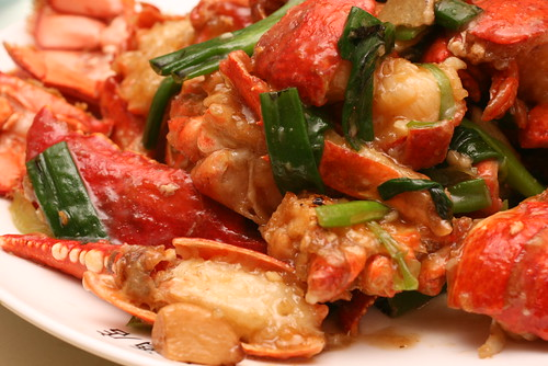 Lobster in Scallion