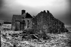 The Ruin (Dan Baillie) Tags: roof winter blackandwhite house cold stone scotland nikon farm masonry cottage ruin portfolio dumfriesandgalloway puddock wigtownshire danbaillie bailliephotographycouk bailliephotography wigtownshirephotographer dumfriesandgallowayphotography