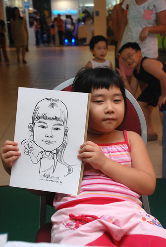 Caricature live sketching for Marina Square Day 2 - 25b