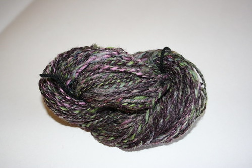 Finished yarn