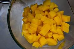 cubing mango