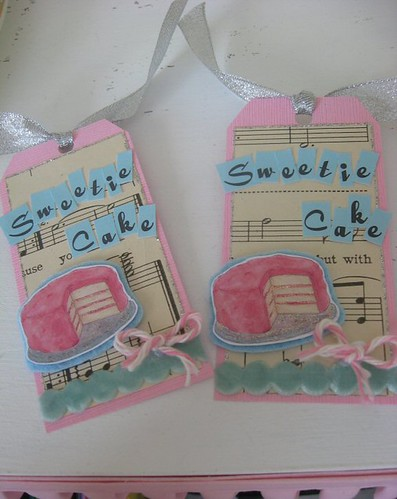 Sweetie Cake Gift Tags