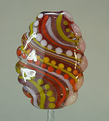 swirls and dots bead