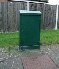 CATV Street Cabinet (it's proper name..) (Stuart Axe) Tags: manhole cabletv greenbox catv streetcabinet