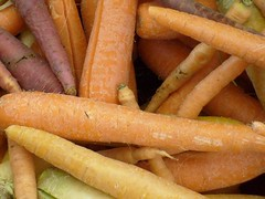 Carrots up close (Kohn.Rebecca) Tags: carrots