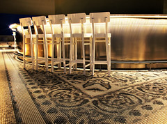 Pearls & Caviar Lounge (alkemus) Tags: bar club night table lights chairs lounge uae tiles abudhabi fancy elegant hdr