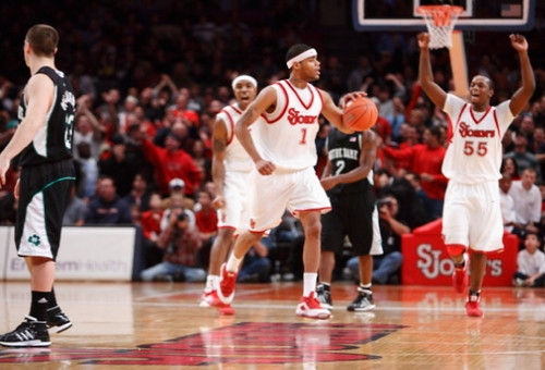 St John's defeats Notre Dame at Madison Square Garden 2009