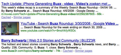Video Thumbnails Google