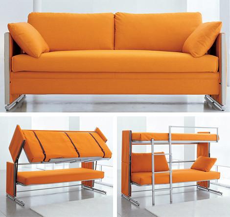 創意雙人沙發床(一)