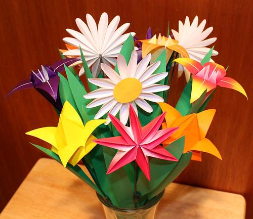 kağıttan çiçekler kadinsak.com