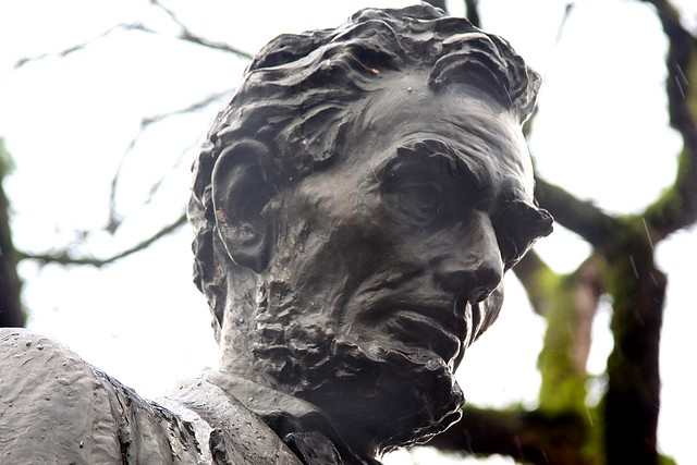 Abraham Lincoln statue, South Park Blocks