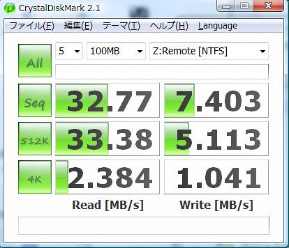 Windows-RAID5 Benchmark