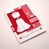 Origami Dress Card Valentine