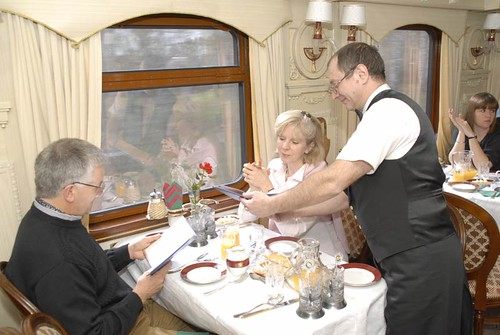 Train Chartering offers Golden Eagle for charter -  Dining car