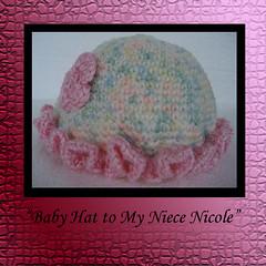 Girl Baby Hat