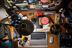 My office today. (What is what ?) - 2009 (- PicsmaKer -) Tags: life desktop leica color ikea apple canon bag book louis office dvd dispenser girlfriend remember phone graphic diesel pentax bureau mosaic watch sac picture spoon powershot ixus souvenir speaker remote creature rag wacom livre couleur vuitton jbl headphone 3m vie dlux notepad louisvuitton lightroom vestax freebox alu sennheiser montre rouleau