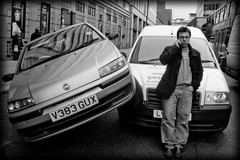 Parked (AndyWilson) Tags: london traffic crash accident parking victoria oops ricoh grd grdii gdr2