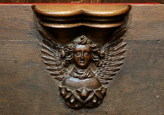 Xanten, Dom St. Victor, stalls, misericord (groenling) Tags: wood cloud angel scarf cathedral dom wolke carving nrw engel holz rheinland stalls xanten stiftskirche halstuch misericord choirstalls chorgesthl gesthl victordom domstvictor