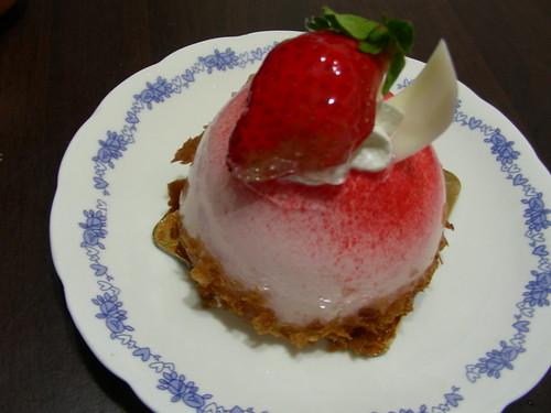 2009-01-21_結婚三週年紀念日蛋糕