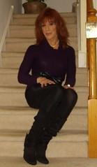 Dressing for the cold weather (Elizabeth Heatherton) Tags: tv cd tgirl tranny transgendered crossdresser transvetite
