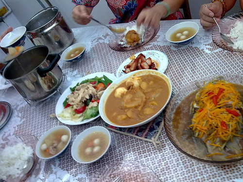 Delicious lunch at aunt's house (2nd day of Chinese New Year) 1