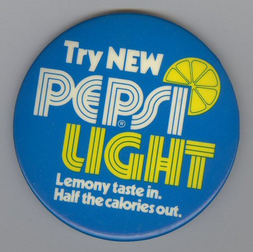 Pepsi Light Button