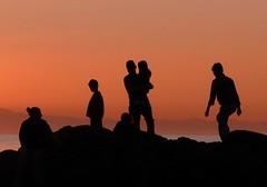Sunset Silhouettes #4 (sea turtle) Tags: family sunset beach silhouette island washington rocks deception silhouettes whidbeyisland washingtonstate deceptionpass whidbey deceptionpassstatepark