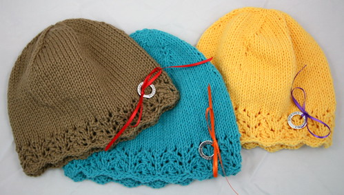 MyJewelThief Knits: Knit Michigan Chemo Caps