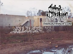 clue1_thirdstriker_01 (Third Striker) Tags: santa urban art graffiti artwork klue barbara vandalism 805 tagging clue pts clew klew ptsk cluer kluer thirdstriker