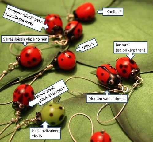 The underpriviledged ladybirds
