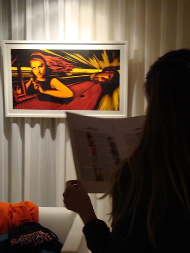 Marco Torres exhibition at El Hotel, Ibiza