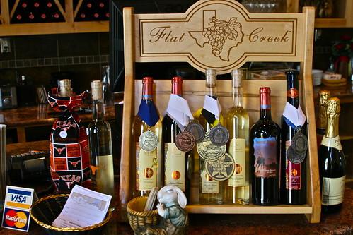 Lotsa award-winning wines