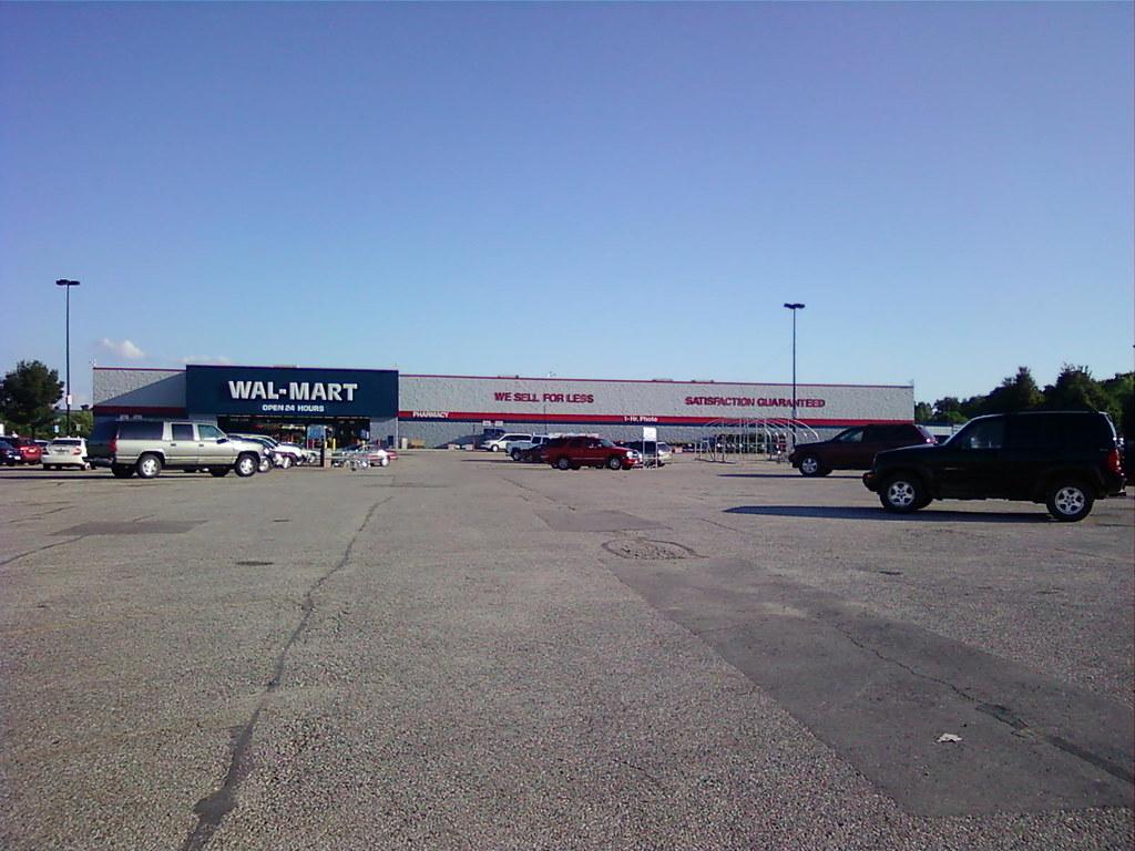 Wal-Mart - Denison, Iowa - Storefront