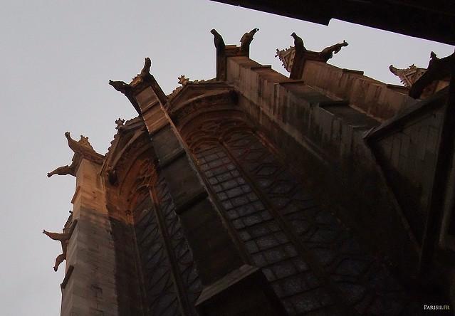Les gargouilles de la Sainte Chapelle