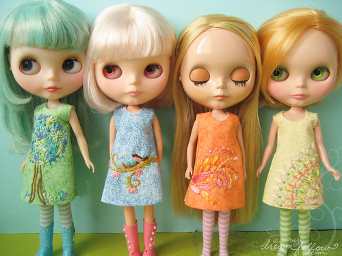 new dolly dresses!